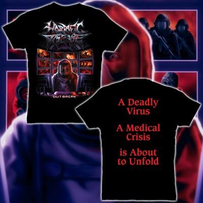 011SAT: T-Shirt - Horrific Disease