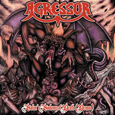 061GD / LCMS004: Agressor - Satan's Sodomy Of Death [re-release] (2020)