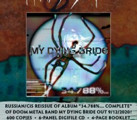 My Dying Bride - 34.788%... Complete
